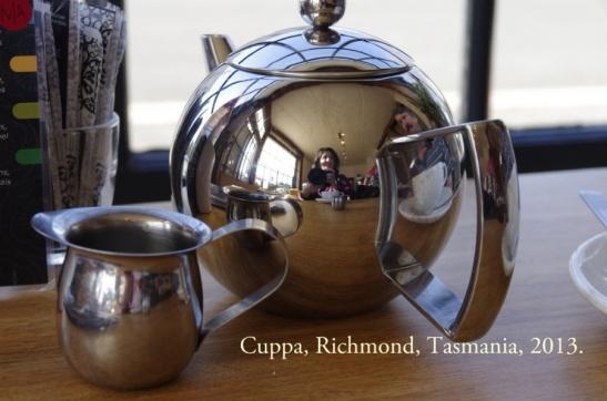 Cuppa, Richmond, Tasmania Hols. 2013
