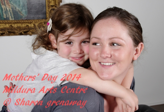 Mother's Day Mildura ARts Centre 2014