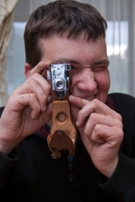 Andrew Brown camera and watch collector