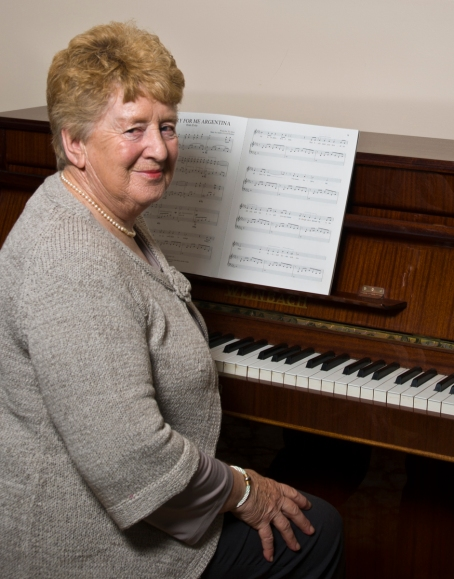 Marjorie Somerville Classical music teacher reshoot